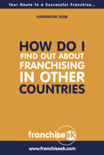 How do I find out about franchising in other countries
